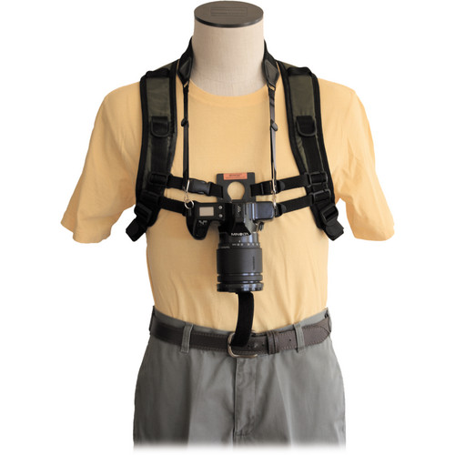 Keyhole Hands-Free Camera Harness (Black)