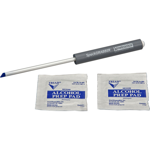 Kinetronics Spec Grabber Pro Cleaning Tool with Two Cleaning Pads