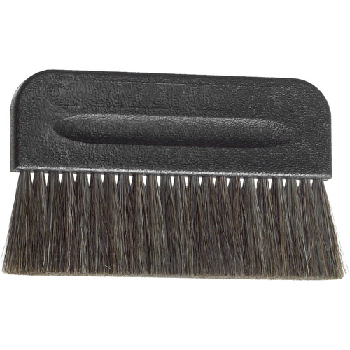 "Kinetronics Model 100N Plastic Handle StaticWisk Brush - 4"" Wide"