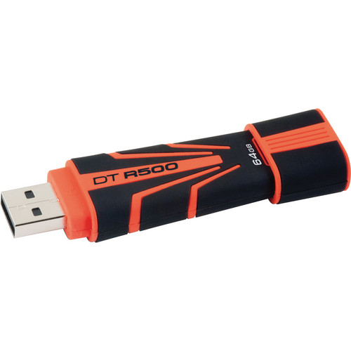 Kingston 64GB Data Traveler R500 USB 2.0 Flash Drive