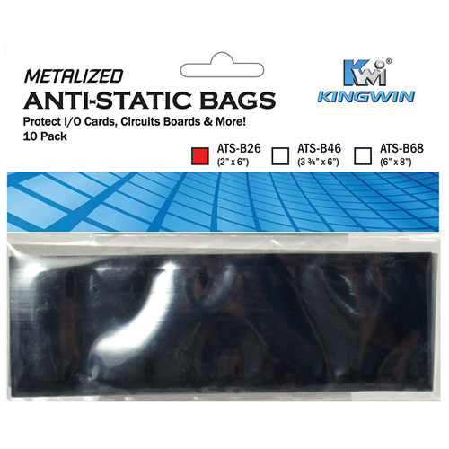 "Kingwin 2x6"" Anti-Static Bags (10 Pack)"