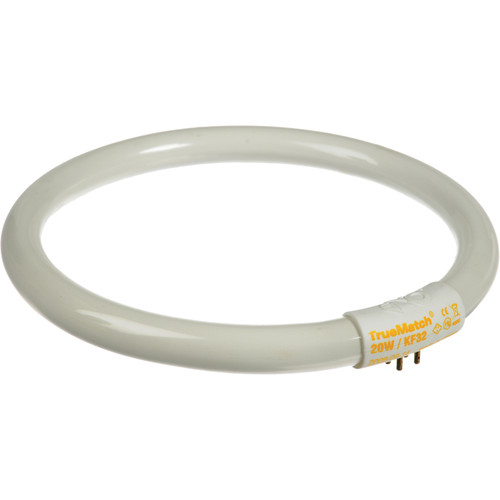 "Kino Flo True Match Kamio Lamp - 20W/3200K - 6"" Ring Diameter"