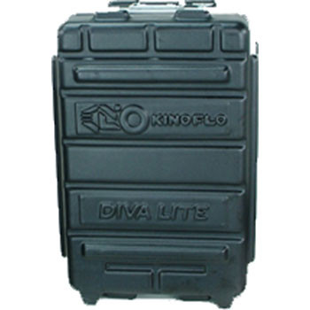 Kino Flo KAS-D42 Diva-Lite 400 Wheeled Flight Case - for Two each Kino-Flo Diva-Lite 400 Fixtures, Stands, Mounts, Flozier and Lamp Cases
