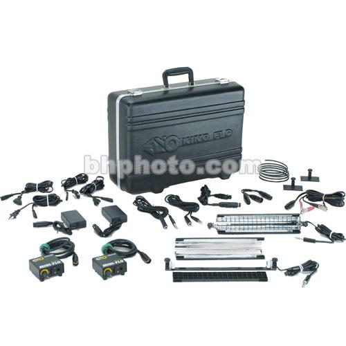 """Kino Flo Mini Flo 12"""" System Kit, XLR Connectors (100-250VAC/12VDC)"""