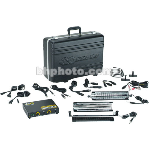 """Kino Flo Mini Flo 9"""" Fluorescent Universal System Kit (100-250VAC/12VDC)"""