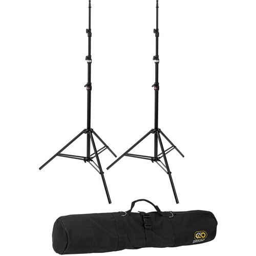 Kino Flo Medium Duty 2-Light Stand Kit with Carry Bag (10')