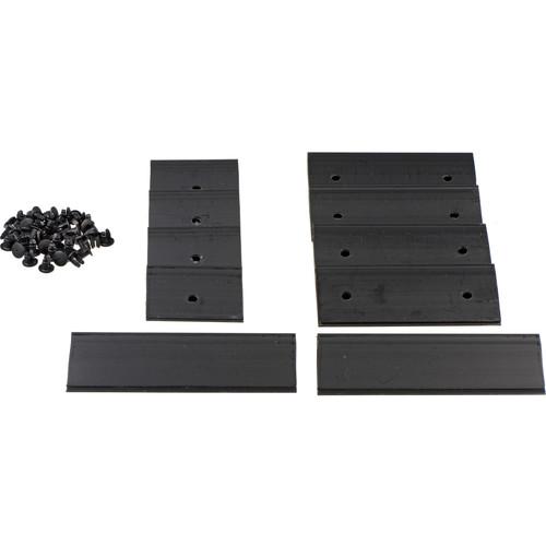 Kino Flo Vista Single Fixture Wire Channel Repair Kit (Silver)