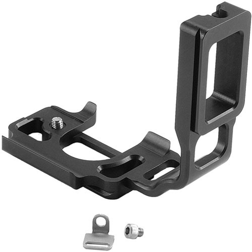 Kirk BL-7EG Compact L-Bracket for Canon Elan 7 & 7E with BP-300 Camera