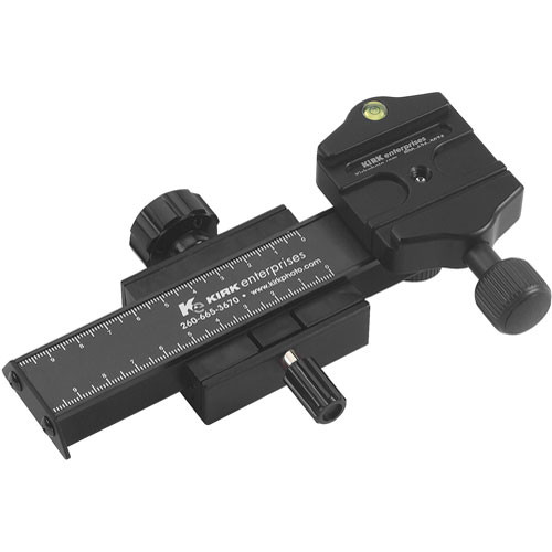 Kirk FR-1 Macro Focusing Rail - with Arca-Type Quick Release