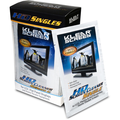 Klear Screen High Definition Singles Kit, Model KS-HDS