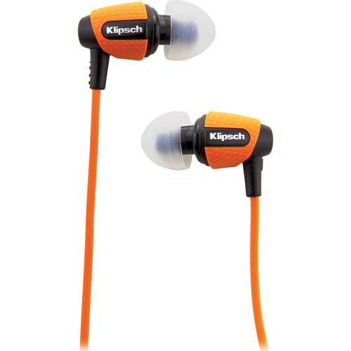 Klipsch Image S4i Rugged In-Ear Headphones (Orange)