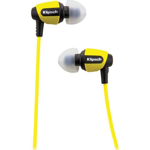 Klipsch Image S4i Rugged In-Ear Headphones (Yellow)