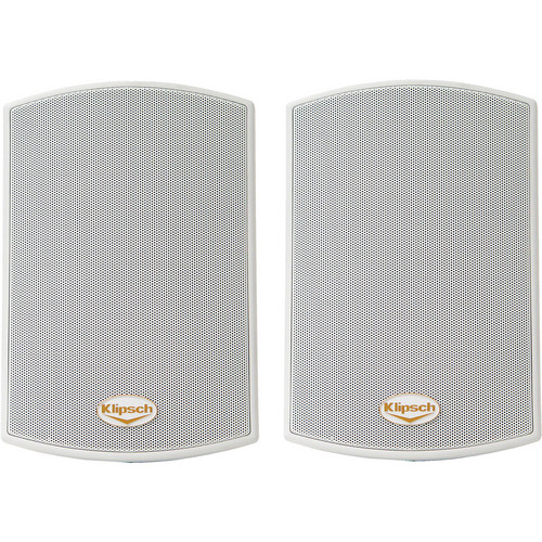 Klipsch AW-400 Reference All-Weather Outdoor Speakers (Pair, White)