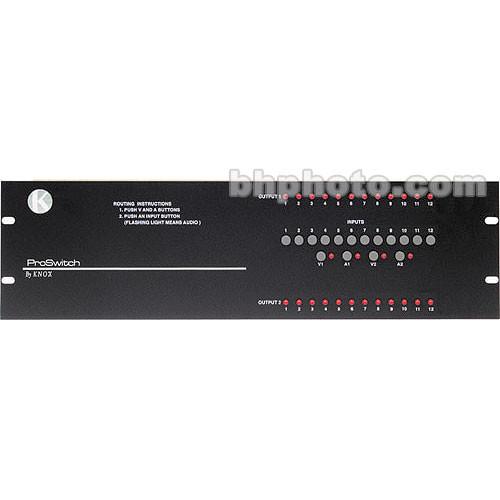 Knox Video Technologies Alpha 12x2 Video Switcher