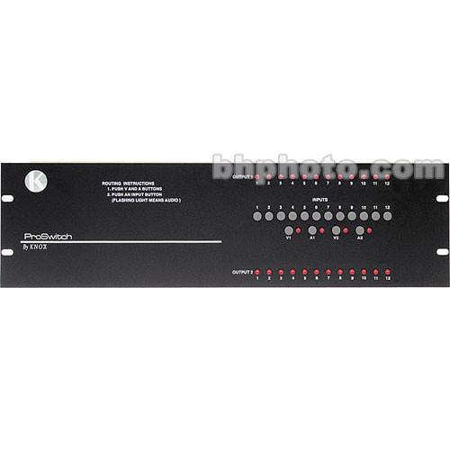 Knox Video Technologies Alpha 12x2 Audio Video Switcher