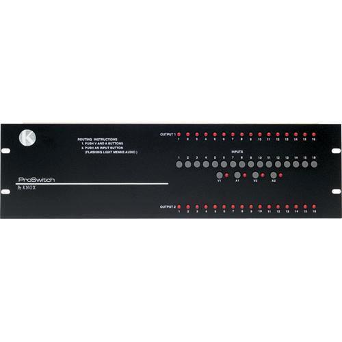 Knox Video Technologies Alpha 16x2 Video Switcher