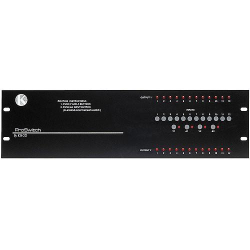 Knox Video Technologies Beta 12x2 Audio Video Switcher