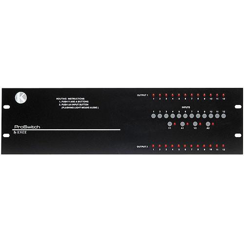Knox Video Technologies Beta 12x2 Video Switcher