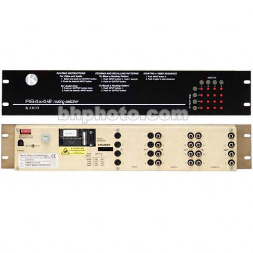 Knox Video Technologies RS-44U Audio Matrix Switcher, 4x4