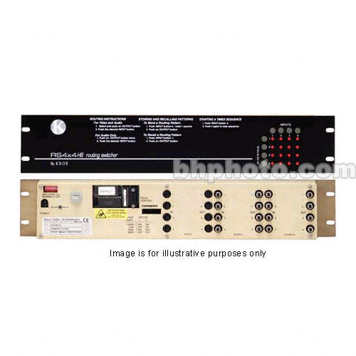 Knox Video Technologies RS-44C Vertical Interval Matrix Switcher, 4x4