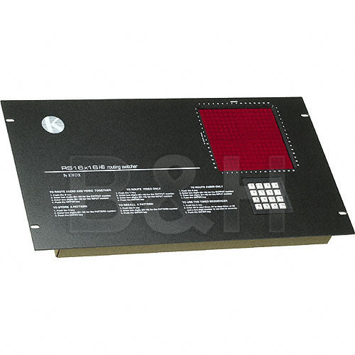 Knox Video Technologies RS-816CB Vertical Interval Matrix Switcher