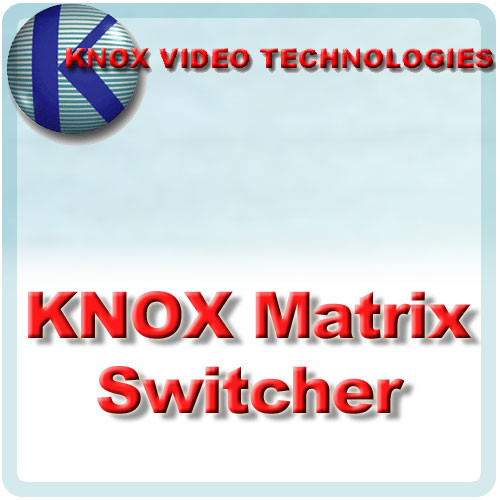 Knox Video Technologies RS-816RU Vertical Interval Matrix Switcher