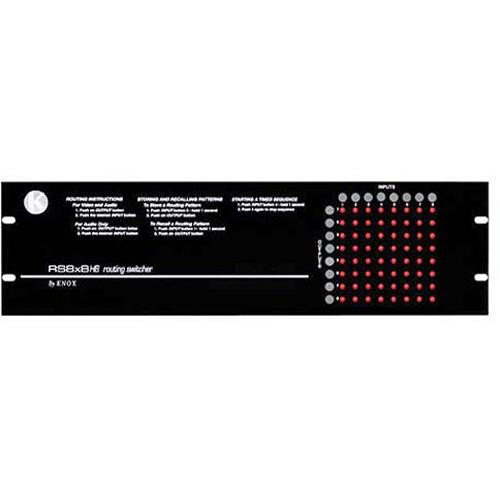 Knox Video Technologies RS-88RB Vertical Interval Matrix Switcher