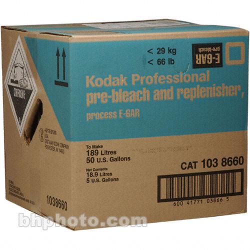 Kodak E-6AR Pre-Bleach II & Replenisher for Color Slide Film