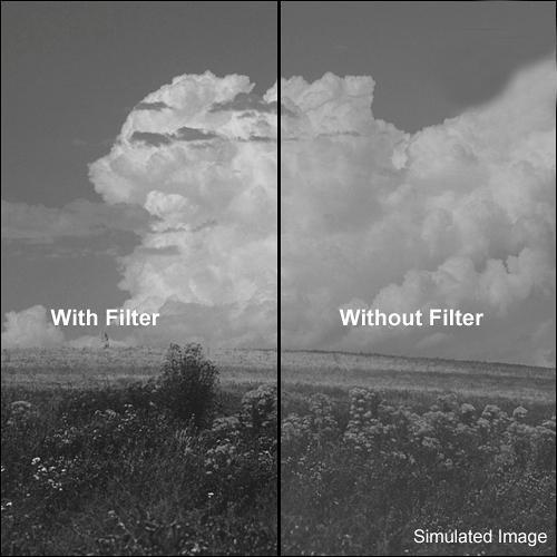 "Kodak 4 x 12"" #9 Deep Yellow/Green Wratten Gel Filter for Black & White Film"