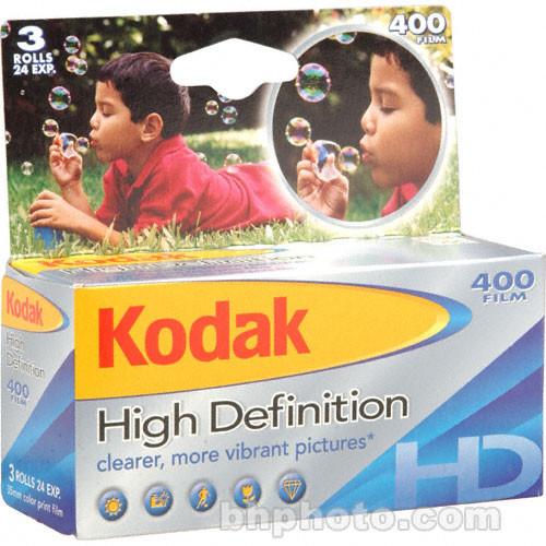 Kodak High Definition 135-24 400 - 3 Roll Pack