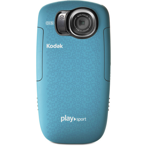 Kodak PLAYSPORT Zx5 Video Camera (Aqua)