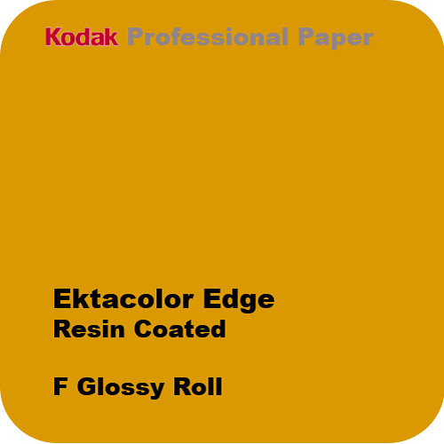 "Kodak Ektacolor Edge Generations 8""x610' Roll Glossy Paper"