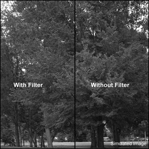 """Kodak 4x4"""" (100mm) #47A Light Blue Wratten 2 Gel Filter for Black & White Film"""