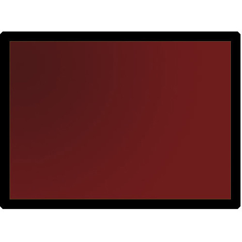 "Kodak GBX-2 Dark Red Safelight Filter 3.25x4.75"""