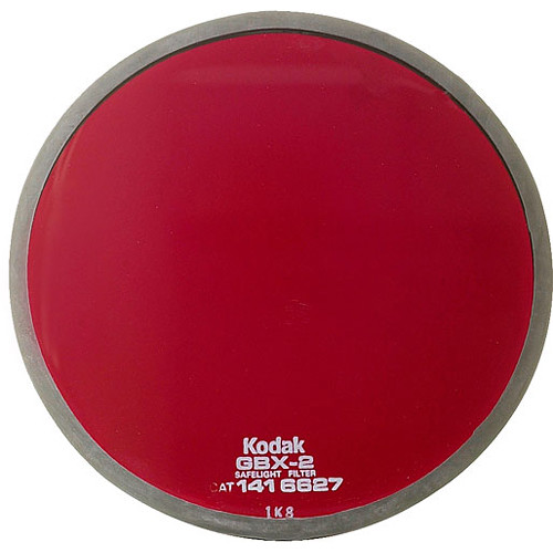 Kodak GBX-2 Dark Red Safelight Filter 5.5""