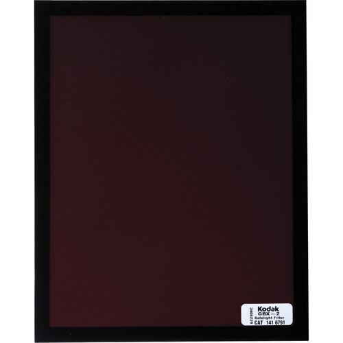 Kodak GBX-2 Dark Red Safelight Filter 8x10""