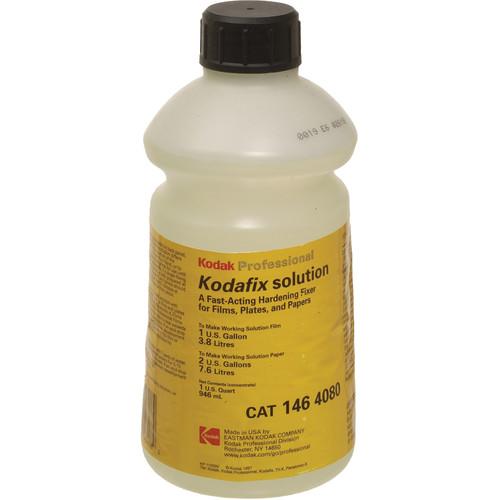 Kodak Kodafix Solution (Liquid) for Black & White Film & Paper - Makes 1 Gallon for Film/ 2 Gallons for Paper