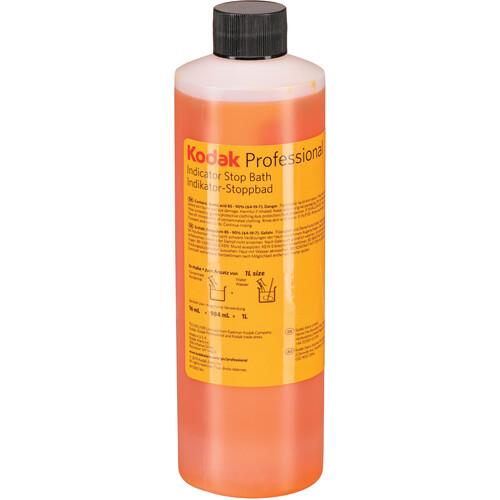 Kodak Indicator Stop Bath (Liquid) for Black & White Film & Paper (Makes 8 Gallons)
