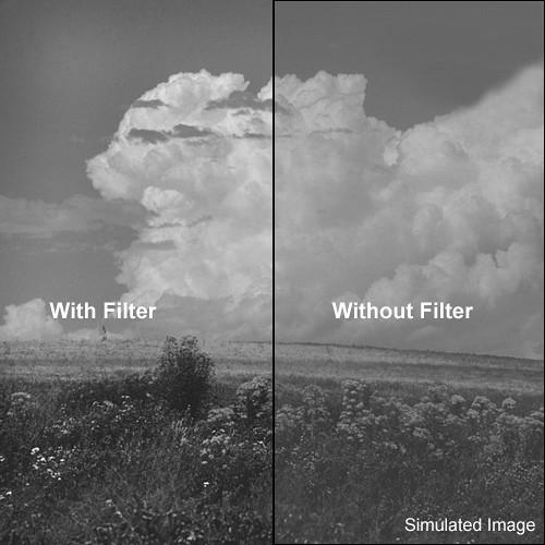 """Kodak 3x3"""" (75mm) #11 Yellow Green Wratten Gel Filter for Black & White Film"""