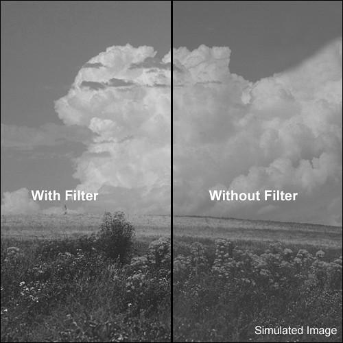 "Kodak 4x4"" (100mm) #2B Pale Yellow Wratten Gel Filter for Black & White Film"