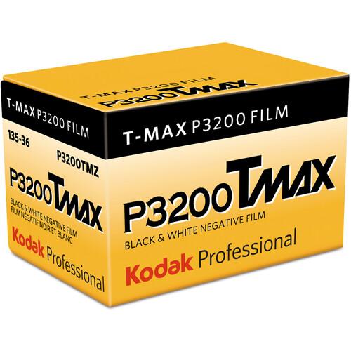 Kodak Professional T-Max P3200 Black and White Negative Film (35mm Roll Film, 36 Exposures)