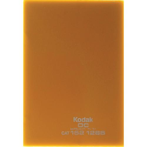 "Kodak #OC Light Amber Safelight Filter 3.25x4.75"""
