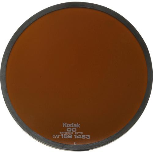 Kodak #OC Light Amber Safelight Filter 5.5""