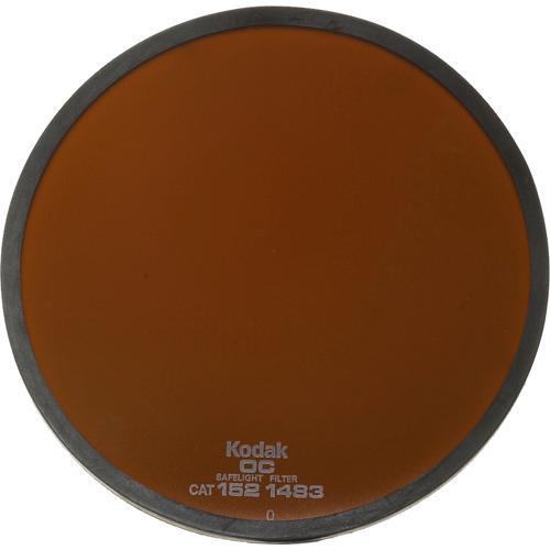 """Kodak #OC Light Amber Safelight Filter 5.5"""""""