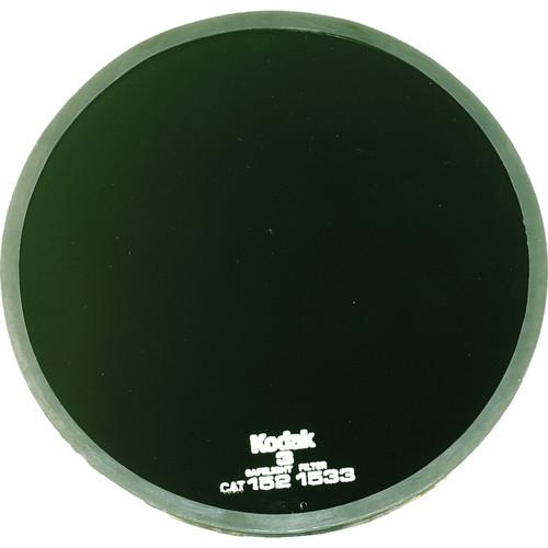 """Kodak #3 Dark Green Safelight Filter 5.5"""""""