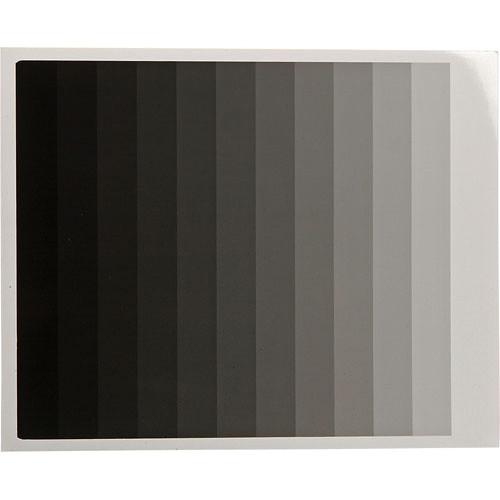 "Kodak 2x10"" Calibrated Photographic Gray Scale"