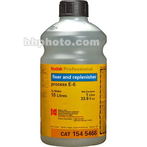 Kodak E-6 Fixer & Replenisher for Color Slide Film - Makes 10 Liters