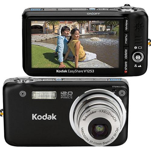 Kodak EasyShare V1253 Digital Camera (Black)