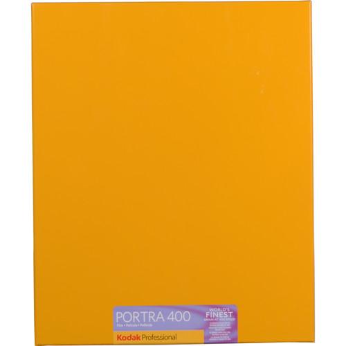 """Kodak 8 x 10"""" Portra 400 Color Film (10 Sheets)"""