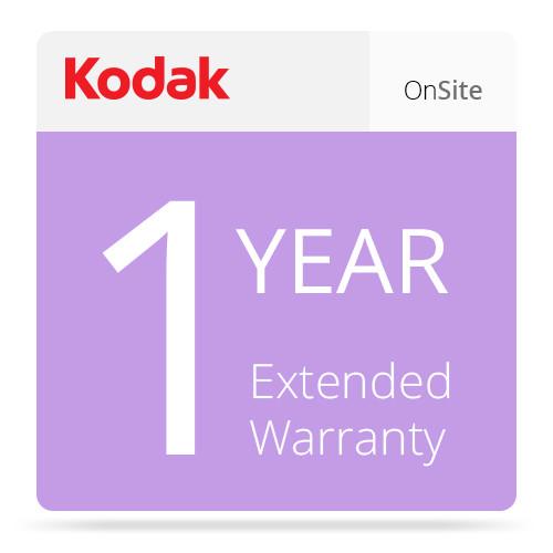 Kodak 1 Year On Site Extended Warranty